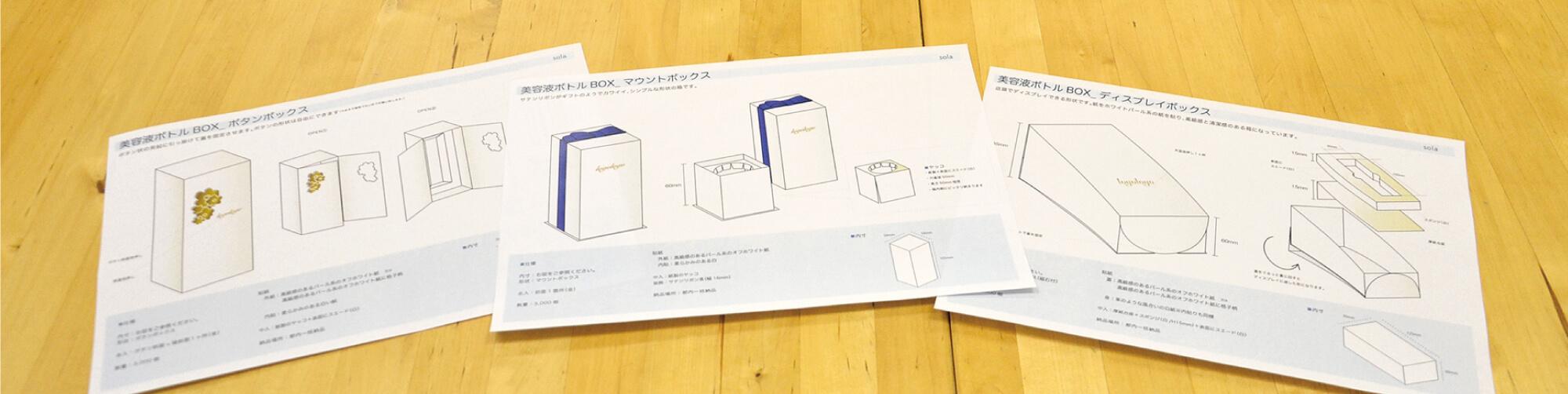 箱の提案書